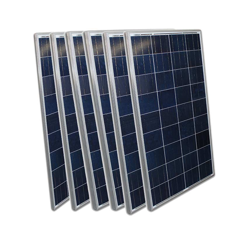 120 Watt Solar Panel Aluminum Frame Ground Roof Mount 6