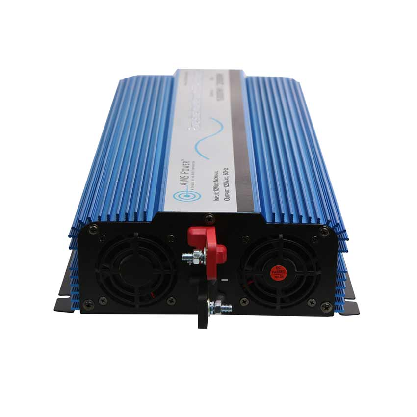 2000 WATT PURE SINE INVERTER WITH TRANSFER SWITCH 12 VDC TO 120 VAC ETL  LISTED