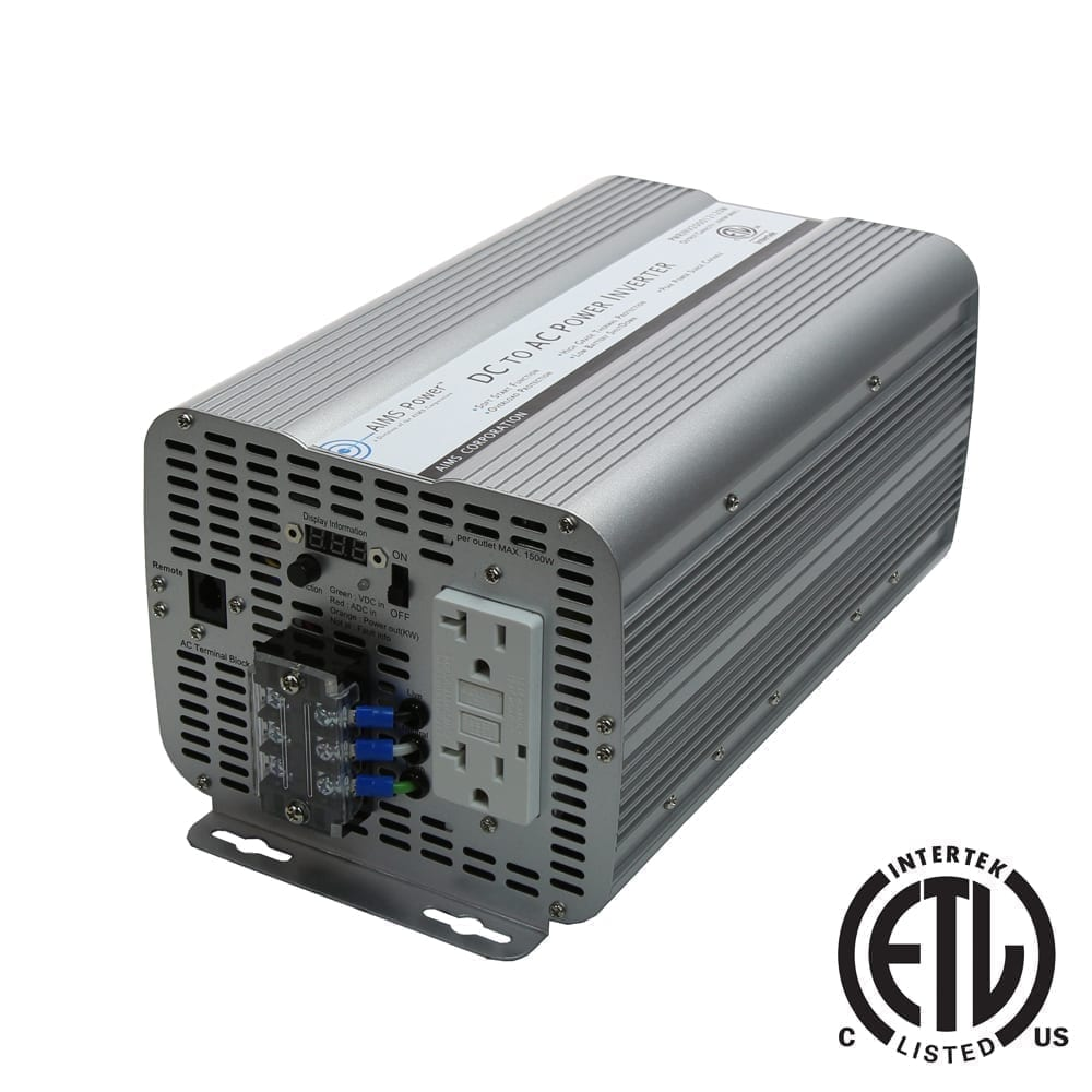 2000 WATT MODIFIED SINE POWER INVERTER