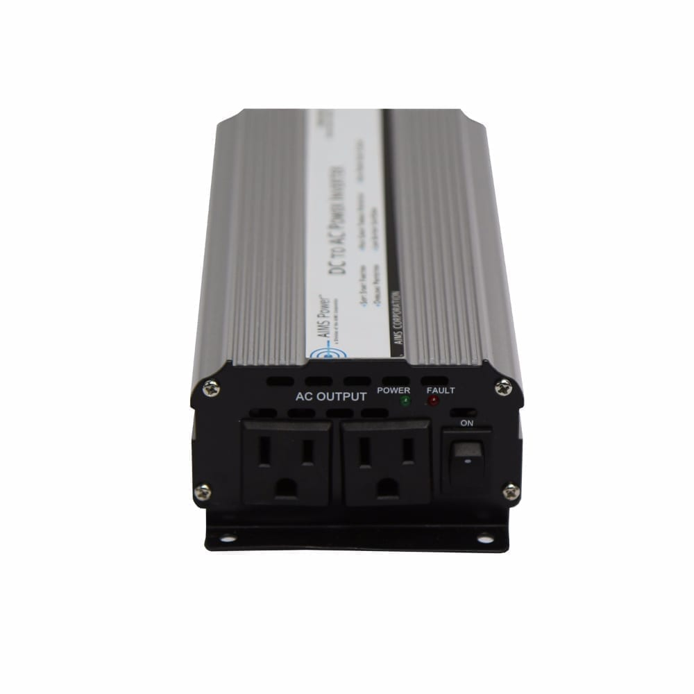 800 Watt Power Inverter 12 Vdc To 120 Vac With Cables