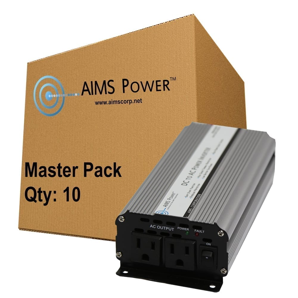 800 Watt Power Inverter 12 Vdc To 120 Vac With Cables Masterpack Qty 12vdc 120vac Schematic Get Free Image About Wiring Converters Accessories