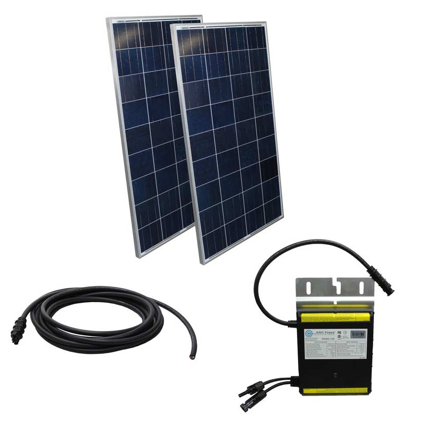 Solar Kits: Inverters, Panels, Controllers, Cables