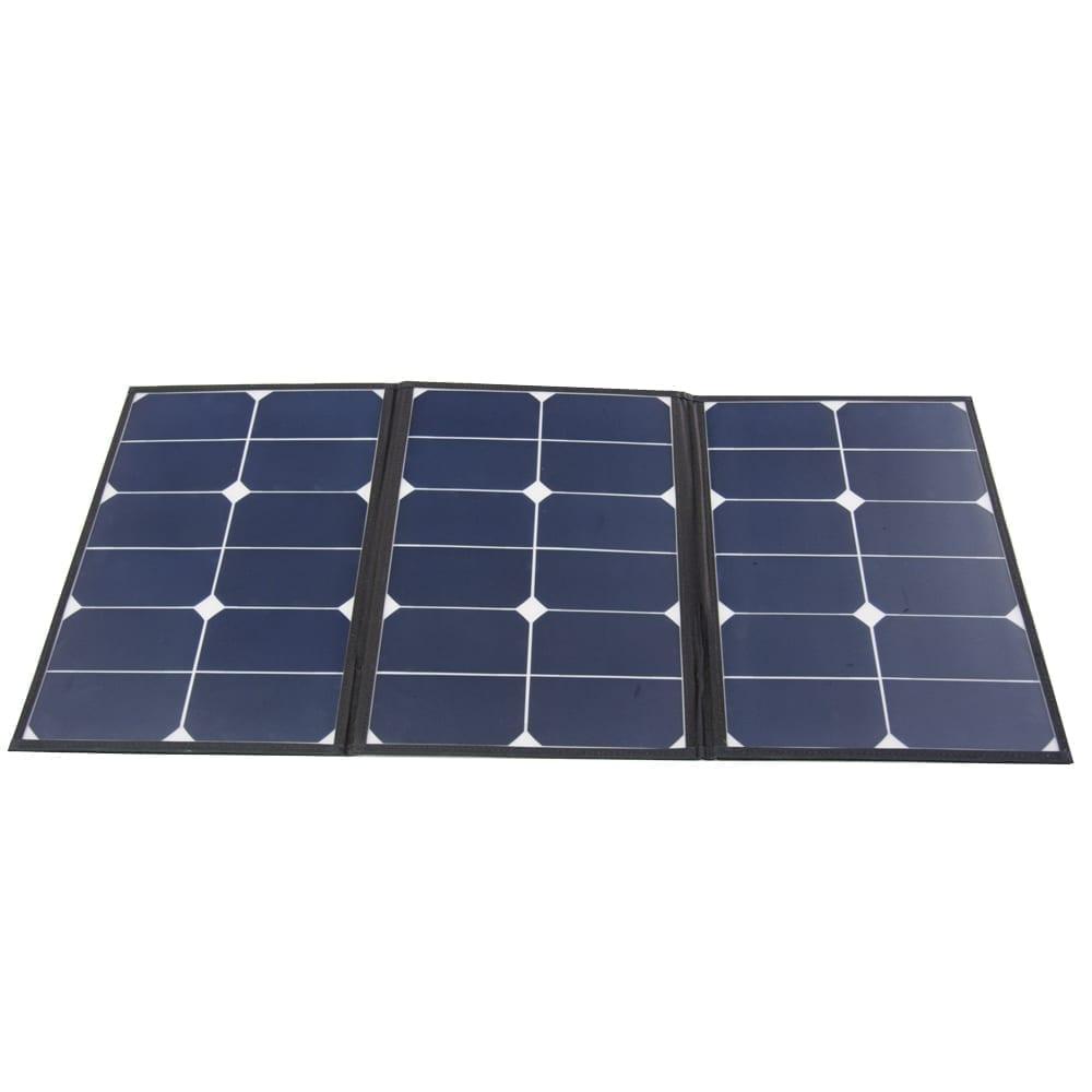 60 Watt Portable Foldable Solar Panel Amp 10 Amp Charge