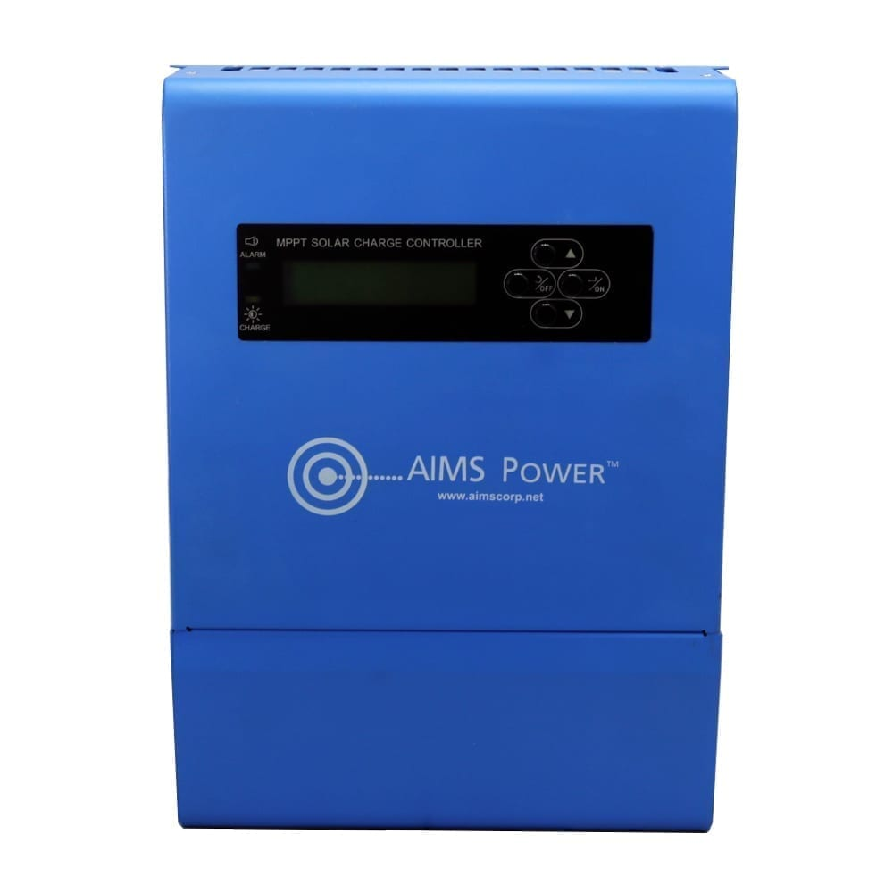 Aims 40 Amp Solar Charge Controller 12 24 36 48 Vdc Mppt