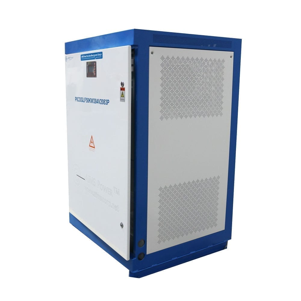 30kw Pure Sine Power Inverter Charger 300 Vdc 208 Vac