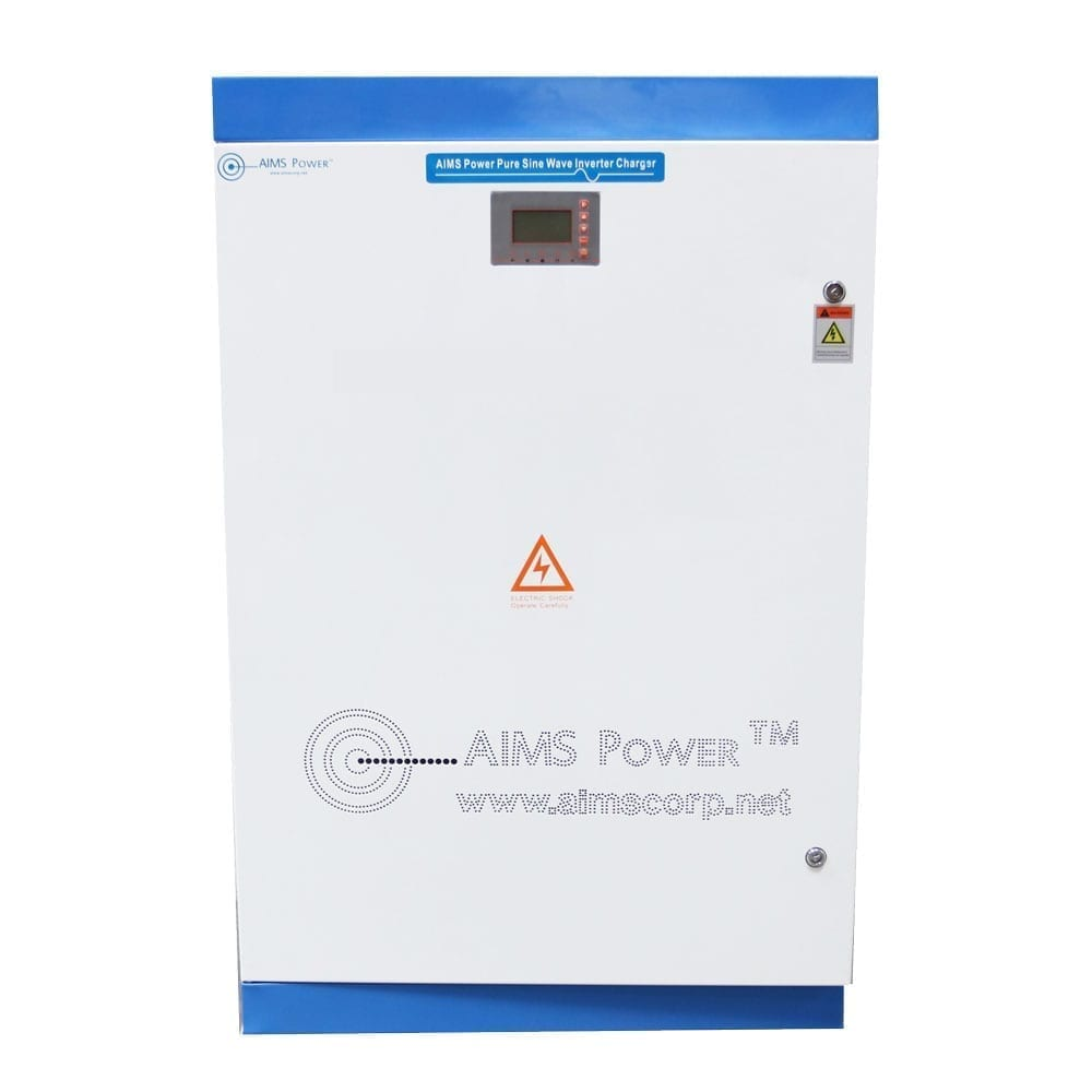30KW PURE SINE POWER INVERTER CHARGER 300 VDC 240 VAC SPLIT PHASE