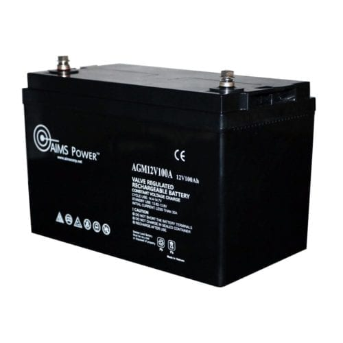 Aims Lithium Battery 12v 200ah Lifepo4 The Inverter Store
