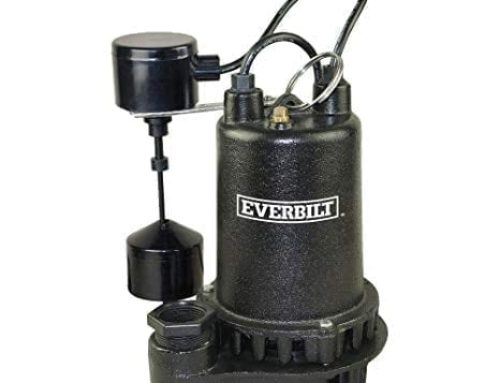 Can I keep my 1/2 horsepower sump pump running during a tropical storm or hurricane?
